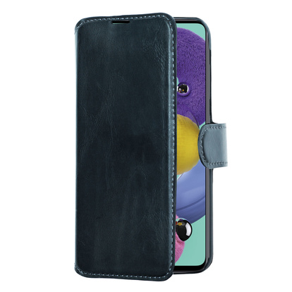 Slim Wallet Case Galaxy A51 4G Svart