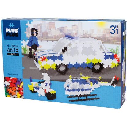 Basic 480 pcs 3in1/Police