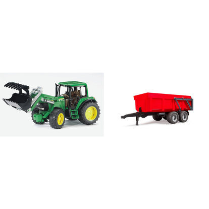 John Deere 6920 Frontloader & Tipping Trail