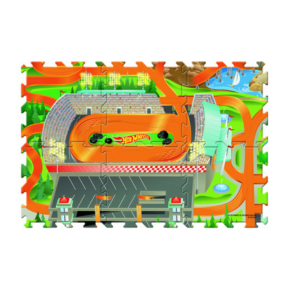 Tile Mega Mat Hot Wheels
