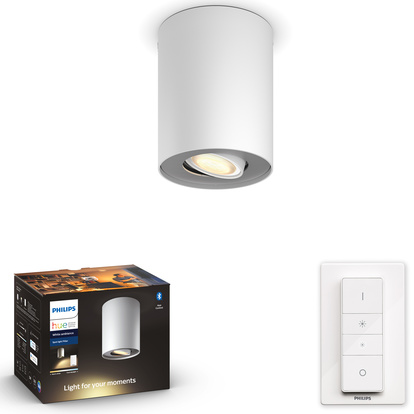 Hue Pillar White Ambiance single Vit