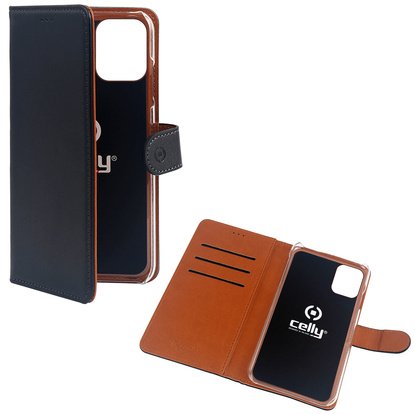 Wallet Case iPhone 12 Mini Svart