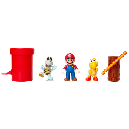 Super Mario 2.5 Inch Dungeon Diorama Set