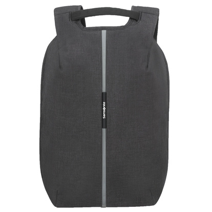 "Securipack Lapt.Backpack 15.6"" Black steel"