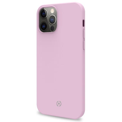 Soft-touch cover iPhone 12 / 12 Pro Rosa