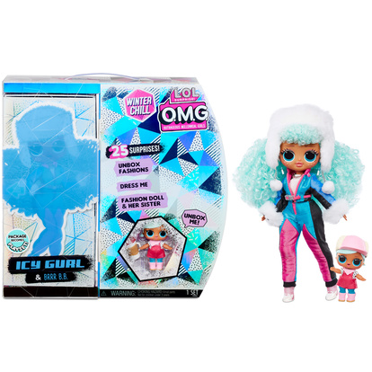 Surprise OMG Winter Chill Icy Gurl doll